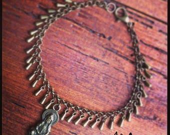 "Bracelet Bohemian bronze ""Gypsy"" series"
