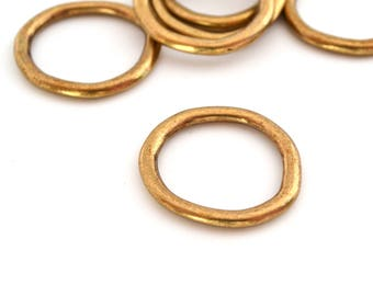 1 connector ring bronze metal 25mm (Europe)