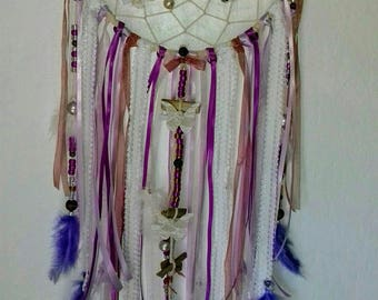 Dream catcher Parma violet lace diameter 22