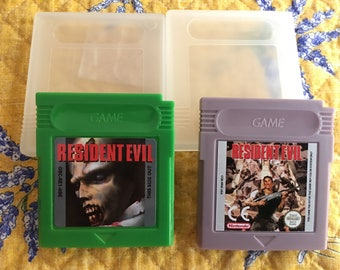 Resident Evil *Proto* & Gaiden NTSC-U GameBoy *Repro carts only