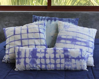 Shibori Pillows