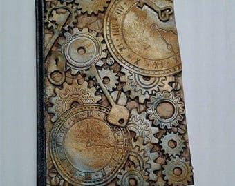 steampunk sketch book