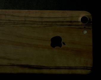 OLIVE WOOD iPhone Skin (iPhone 6/6s, 6/6s Plus, 7/7 Plus)