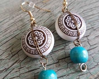 Handmade Boho Flair Earrings