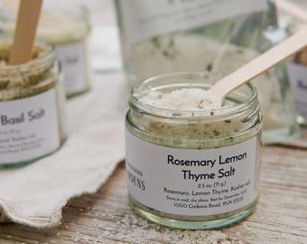 Rosemary Lemon Thyme Salt (2.5 oz. jar)