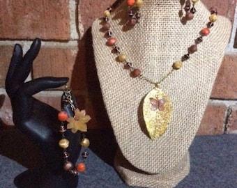 Fall Inspired 3 Piece Jewelry Set