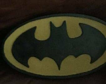 Custom Made Batman or Superman Plaque