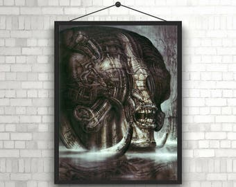 Alien Creature H. R. Giger Poster