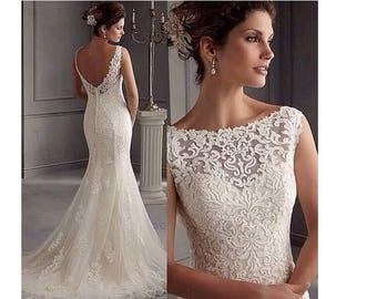 Brand Newnever Worn Mori Lee Bridal Wedding Dress GownUK Size 12
