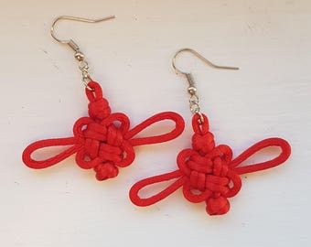 Lucky Knot Earrings