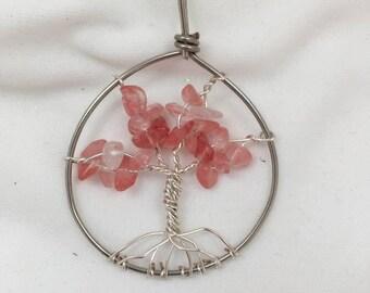 Tree of Life pendant, handmade