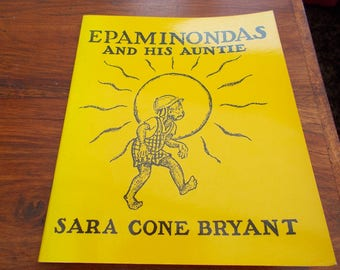 "Card wraps ""Epaminondas and his auntie 1st 1976"
