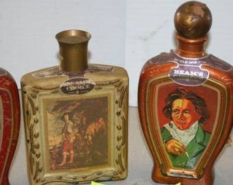 Vintage Beams Choice Kentucky Bourbon Whiskey Decanters