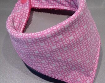 Bib bandana Pink Arabesque ★ ★