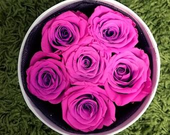 Luxury Dream Pink Preserved Rose Arrangement