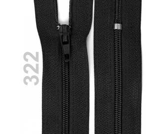 black nylon closure size 10 cm