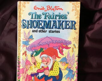 FREE POSTAGE  Enid Blyton The Fairies shoemaker and other stories retro vintage childrens book 1997