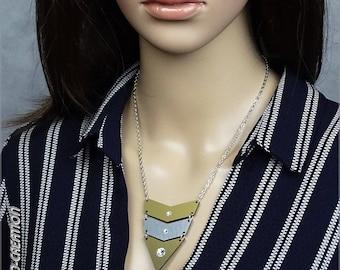 "Necklace collection SYLCO ""INDIANA"" (gold/silver/black)"