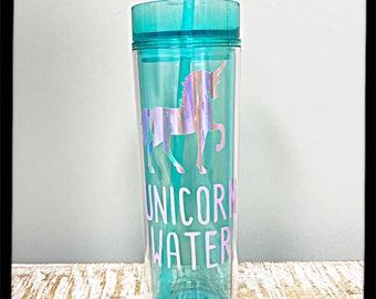 Unicorn Water Tumbler