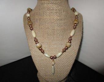Dark Gold Necklace
