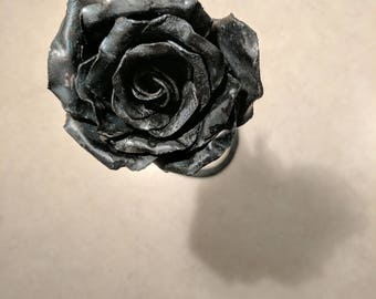 Hand forged Forever Rose