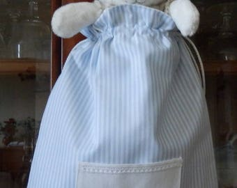 Baby blanket or else bag