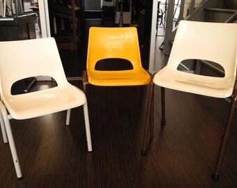 Vintage - 60's school chairs