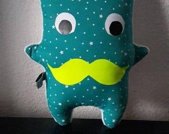 Plush baby monstrouilloux Emerald Star theme
