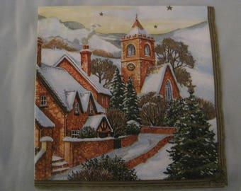 TOWEL CHRISTMAS DECORATION