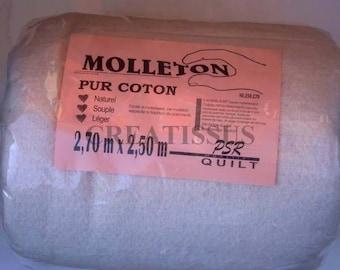 Pure cotton 2.7 m x 2.5 m fleece