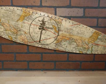 Compass/Map Longboard
