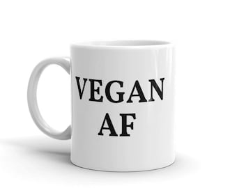 Vegan AF - Mug