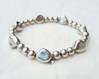 Men's bracelet, women's bracelet, mens silver bracelet 925, 925 sterling silver bracelet, unisex, silver 925, handmade, made in Italy, outfit