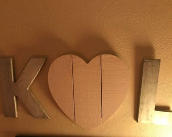 Monogrammed Personalized decor