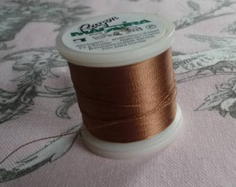 Tubinos Brown Madeira embroidery thread