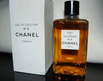 CHANEL N5 - Eau de Cologne - vintage perfume bottle