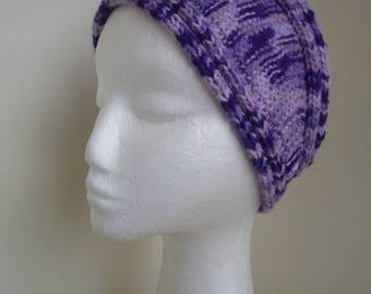 Miss the frivolous Carole knitted headband