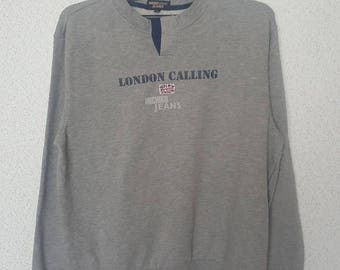 London Calling MICHIKO Jeans  vintage sweatshirt /