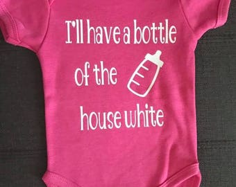 Bottle of the House White Onsie