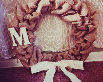 Custom Burlap Wreaths
