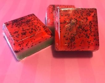 Watermelon soap