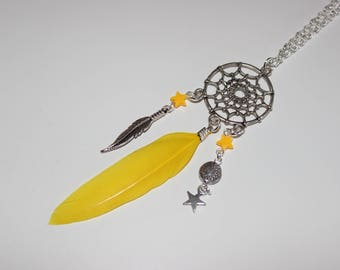 Yellow dream necklace
