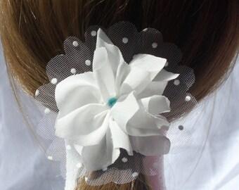 Flower hair special weddings and ceremonies