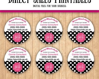 "Perfectly Posh Inspired 1"" Labels"