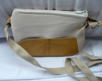 Very soft leather shoulder pouch