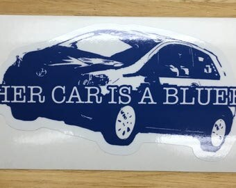 My Other Car is a Bluebetty Decal / Sticker
