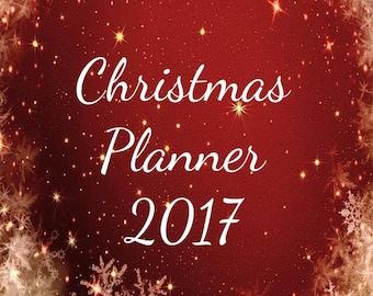 Digital Download PDF - Christmas Planner