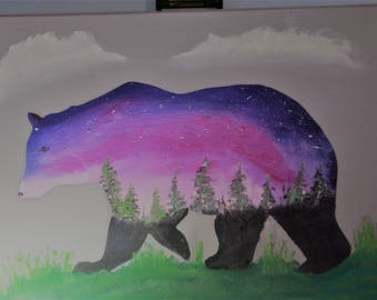 Oil Painting No: 026 Northern Bear