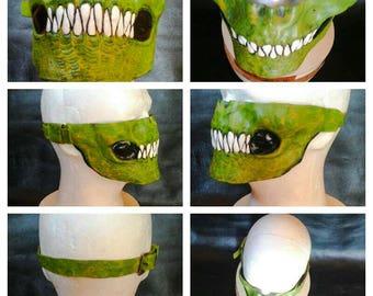 Killer Croc Leather Mask