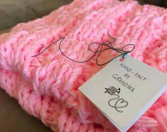 Bubblegum Baby Blanket